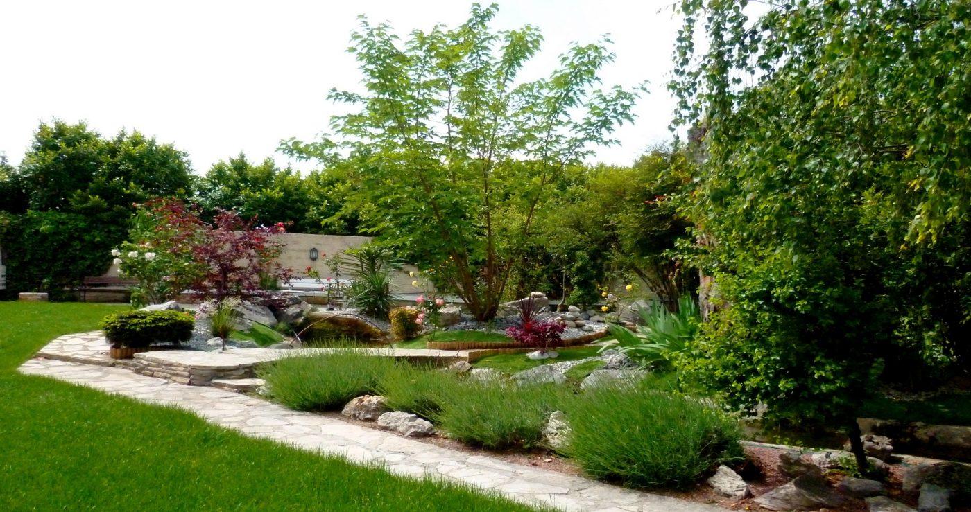 yoga valence jardin intérieur