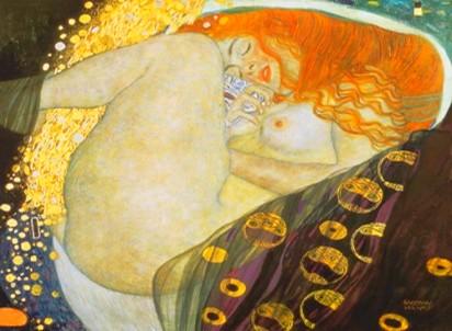 Danae de Gustave Klimt