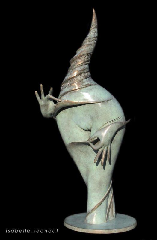 "sculpture "" Le joyau"" I Jeandot"