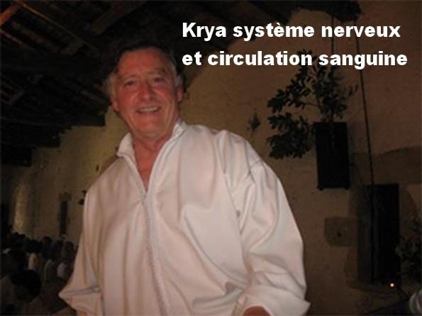 Krya circulation sanguine et système nerveux