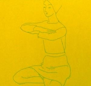 Posture méditation force intérieure