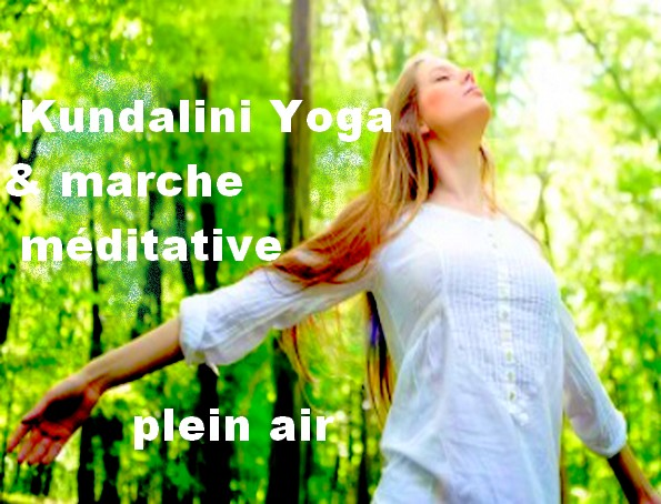 yoga et marche méditative