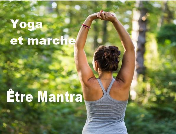 yoga et marche