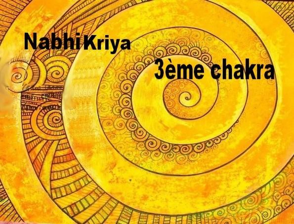 Kriya 3ème chakra