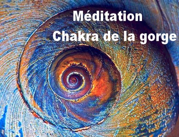 Méditation Chakra de la gorge