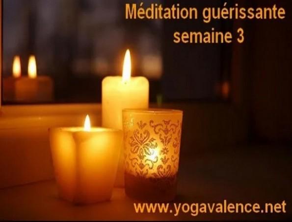 Méditation guérissante novembre 2020 confinement