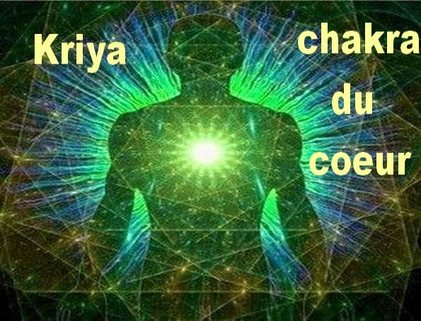 kriya chakra coeur