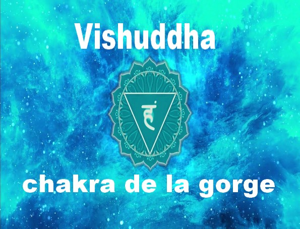 vishuddha chakra de la gorge
