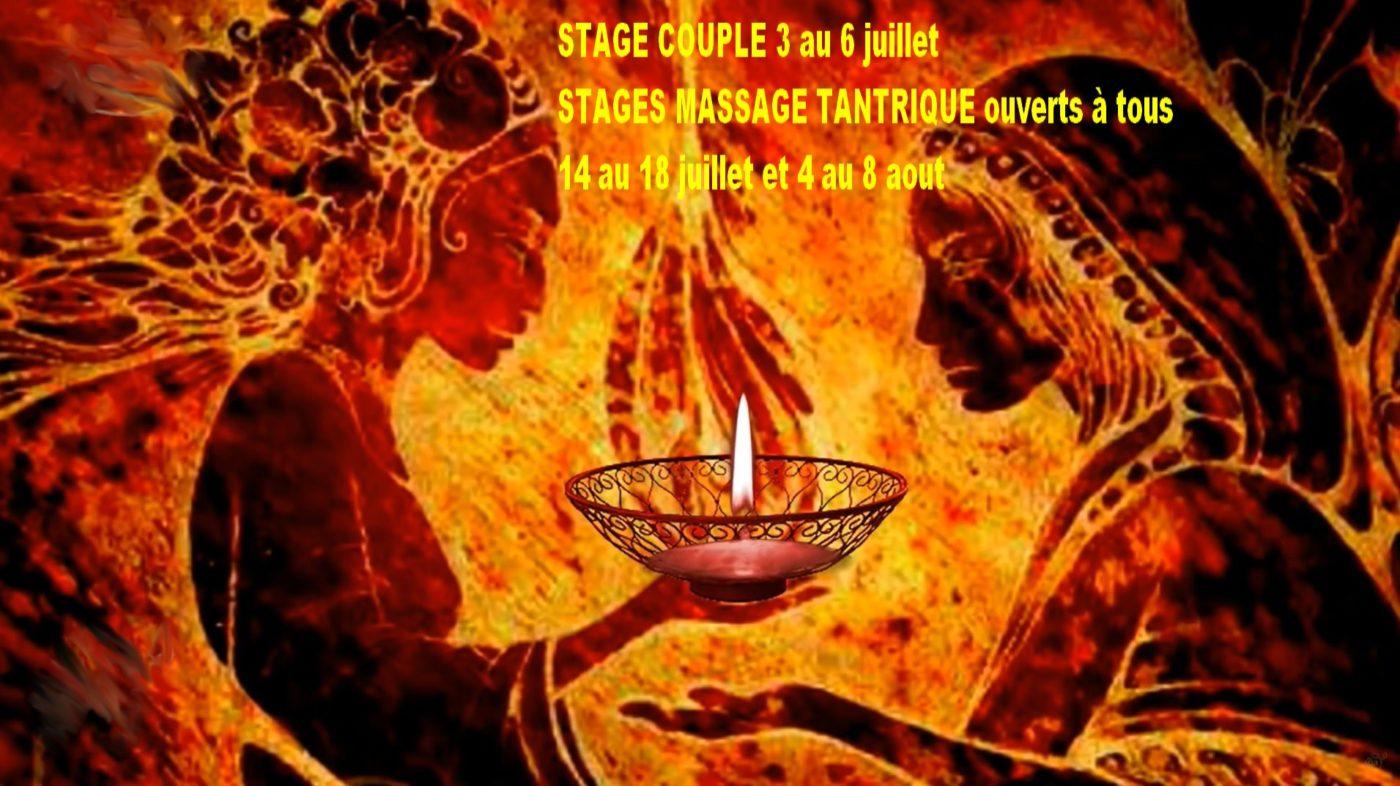 STAGES COUPLE et MASSAGE TANTRIQUE