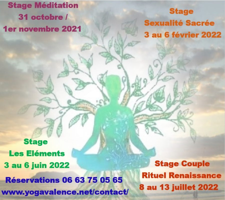 Stages Tantra Yoga Valence 21 22