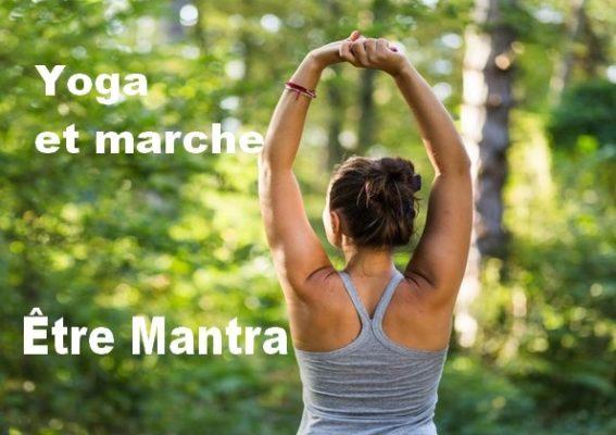 Yoga marche danse sur un mantra @ Centre holistique Drôme Ardèche Jardin Intérieur